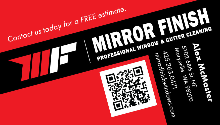 Mirror Finish Business Card